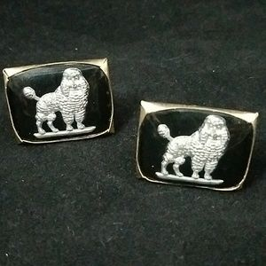 Other - Vintage Poodle Cuff Links
